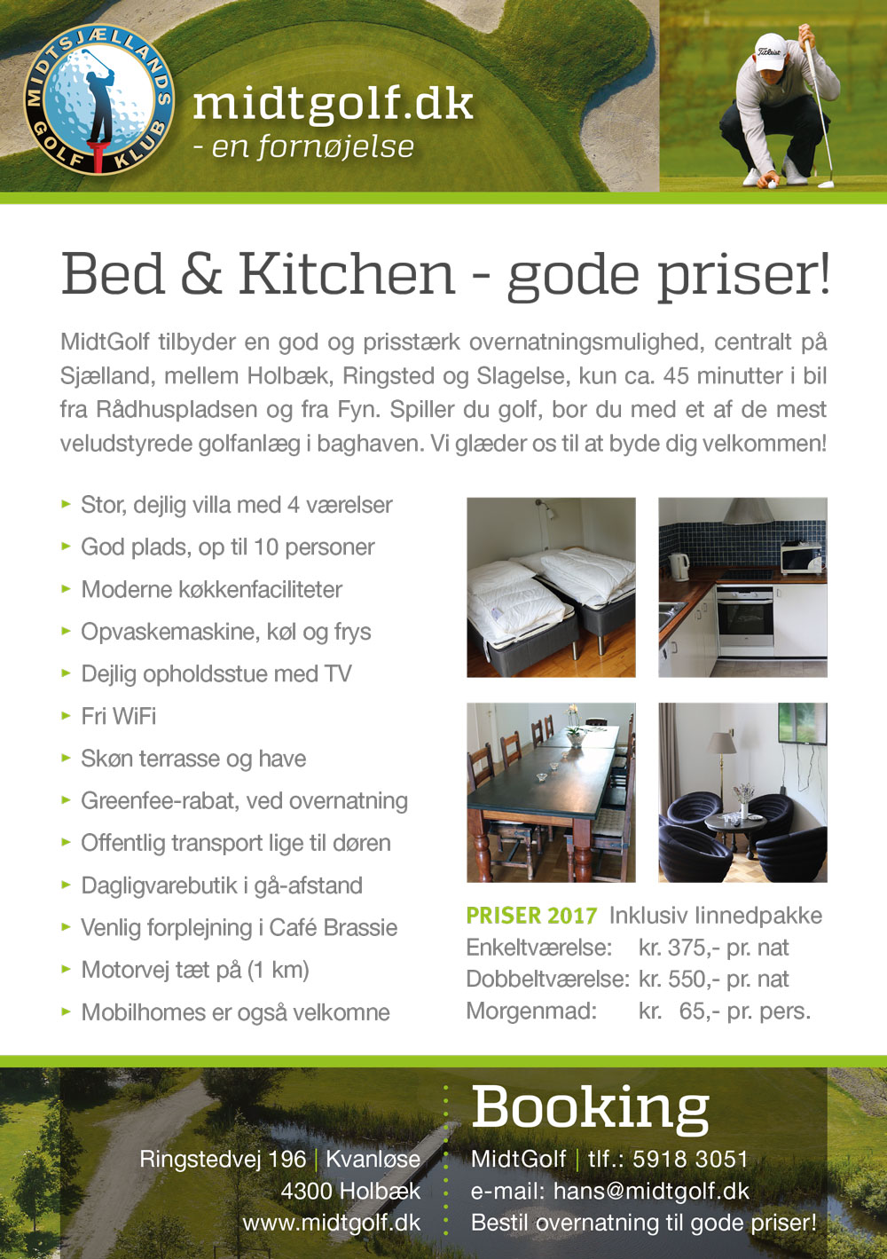 MidtGolf A5 flyer 01 2017 bed-and-kitchen 001